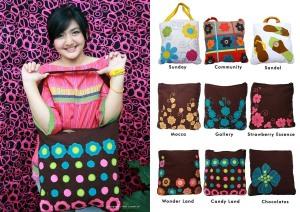 maika etnik, anekataslucu, tas shoulder, handmade, tas wanita, selempang