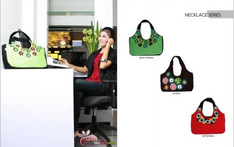 tas maika etnik 2012 hal necklace series, tas jinjing lucu dari maika