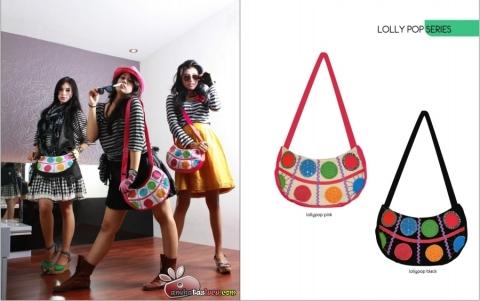 tas maika etnik 2012 hal lollypop series, tas selempang kecil maika etnik bogor