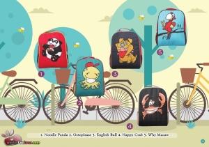 tas karakter gambar hewan