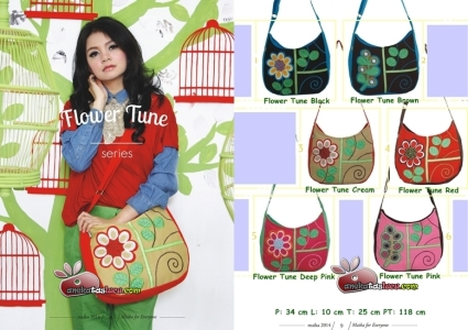 flower tune series tas maika